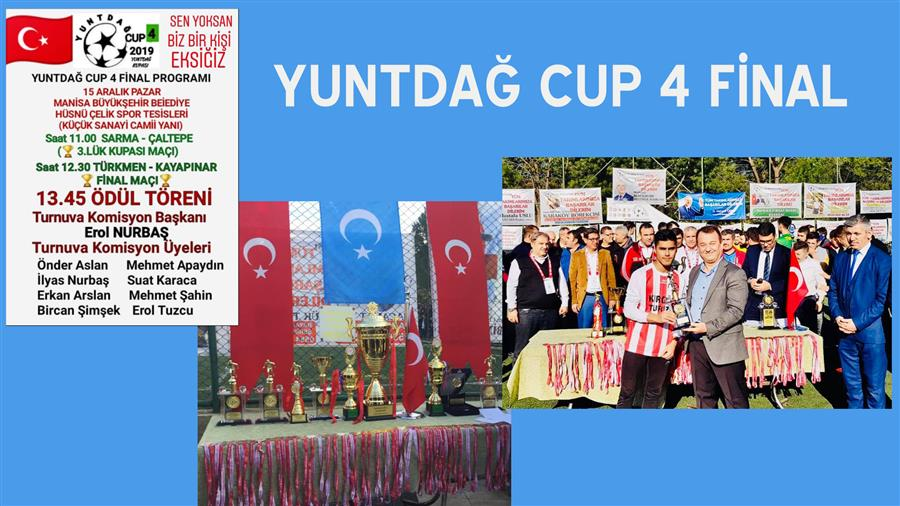 15.12.2019 YUNTDAĞ CUP 4 FİNAL